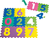 Puzzlematte Zahlen 10-teilig