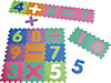 Puzzlematte Zahlen 16tlg. m.Rechenzeic