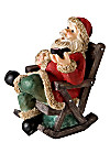 Räucherfigur Santa