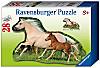 Ravensburger Konturpuzzle Pferd, 28 Teile