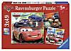 Ravensburger Puzzle Disney Cars: Weltweiter Rennspaß, 3x49 Teile
