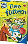 Ravensburger - Spielend Neues lernen Tiere füttern, Lernspiel