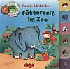 Register-Puzzlebuch (Kinderpuzzle), Fütterzeit im Zoo