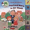 Register-Puzzlebuch (Kinderpuzzle), Paul und Marie in der Stadt