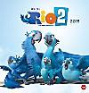 RIO 2 Posterkalender quadratisch 2015