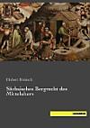 Sächsisches Bergrecht des Mittelalters