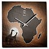 """Schieferuhr """"Afrika"""""""