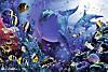 Schillernde Unterwasserwelt. Puzzle 3000 Teile