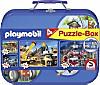 Schmidt Puzzle Playmobil, 2 x 60 und 2 x 100 Teile