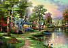 Schmidt Puzzle - Thomas Kinkade Am See, 1500 Teile
