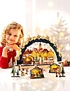 Schwibbogen Weihnachtsmarkt