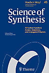 Science of Synthesis: Houben-Weyl Methods of Molecular Transformations Vol. 45a (eBook)