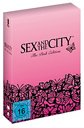 Sex and the City - The Pink Edition, Candace Bushnell, DVD-Boxen