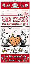 Sheepworld Partnerplaner Wir Zwei 2015
