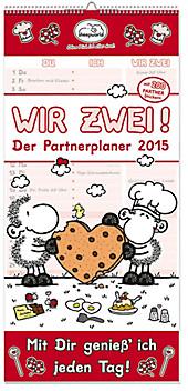 Sheepworld Partnerplaner Wir Zwei 2015