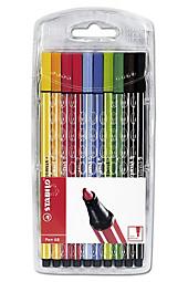 "Stabilo ""Pen 68"", 10er-Etui"
