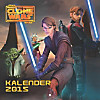 Star Wars: The Clone Wars Wandkalender 2015