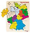 Steckpuzzle Deutschland II