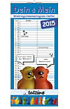 Tatzino Planer für Zwei 2015