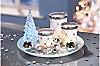 """Teelichthalter-Set """"Frohes Fest"""""""
