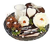 """Teelichthalter-Set """"Romance"""""""