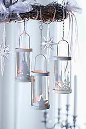 """Teelichthalter """"Winterzeit"""",  3er-Set"""