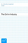 The Girl in Industry (eBook)