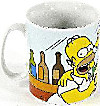 The Simpsons  - XXL Tasse Homer & Freunde