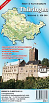 Thüringen, Biker- & Tourismuskarte