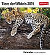 Tiere der Wildnis Postkartenkalender 2015