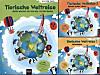 Tierische Weltreise: Buch