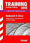 Training Zentrale Prüfung 2015: Mathematik, Klasse 10, Hauptschule Typ A, Gesamtschule GK Nordrhein-Westfalen (Lösungen)