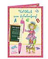 Viel Glück zum Schulanfang! Grußkarte mit Zauberkuli Lillifee