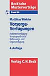 Vorsorgeverfügungen, m. CD-ROM