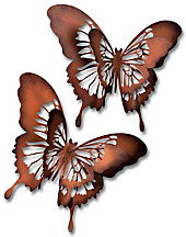"Wandschmuck ""Schmetterling"", 2er-Set"