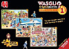 WASGIJ? Original Collector Box (Puzzle) Nr. 1, 2 & 3, 36
