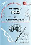 Weltmusik-TRIOS für variable Besetzung, Spielpartituren u. Einzelstimmen