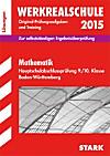 Werkrealschule 2015: Mathematik Hauptschulabschlussprüfung 9./10. Klasse Baden-Württemberg, Lösungen