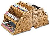 Zeitschriftenständer (Ausführung: Natur), Kleinmöbel